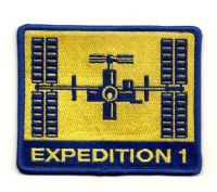 International Space Station Expedition 1 (Alternate) Patch